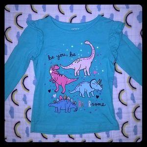 Dinosaur Long Sleeved Tee 3T